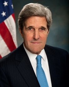 John Kerry, official Secretary of State portrait