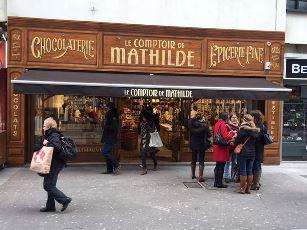 La boutique du Comptoir de Mathilde