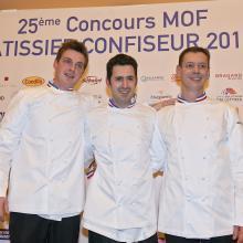 Meilleurs Ouvriers de France Pâtissiers Confiseurs 2015©Franck Kauff