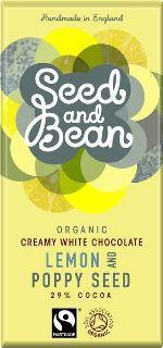 Tablette au citron et graines de pavot par Seed and Bean©