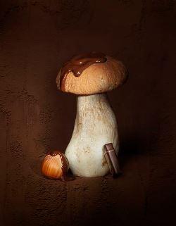 Praliné noisette au cèpe©photo Caroline Faccioli