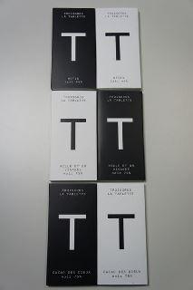 La gamme de tablettes Troisgros©