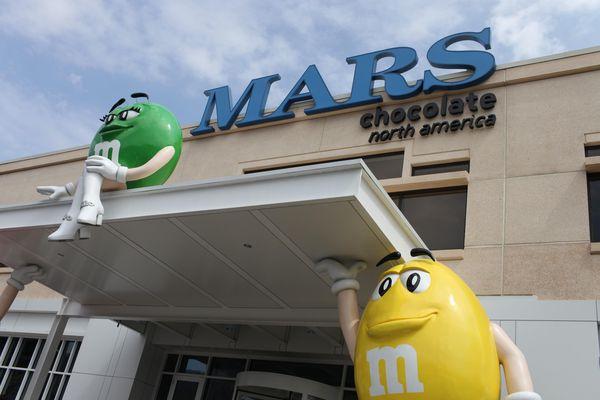 Entrée du siège social de Mars Chocolates©