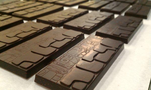 Barres de Chocolat Amaranth© Madre Chocolate