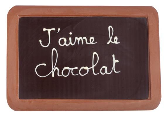 """Ardoise """"J'aime le chocolat"""" par Jadis et Gourmande©"""