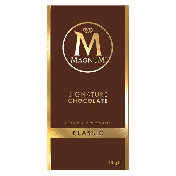 tablette magnum signature chocolat au lait© Magnum