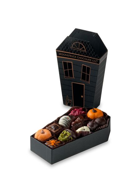 Les chocolats d'halloween de Moonstruck Chocolate co©Moonstruck Chocolate Co