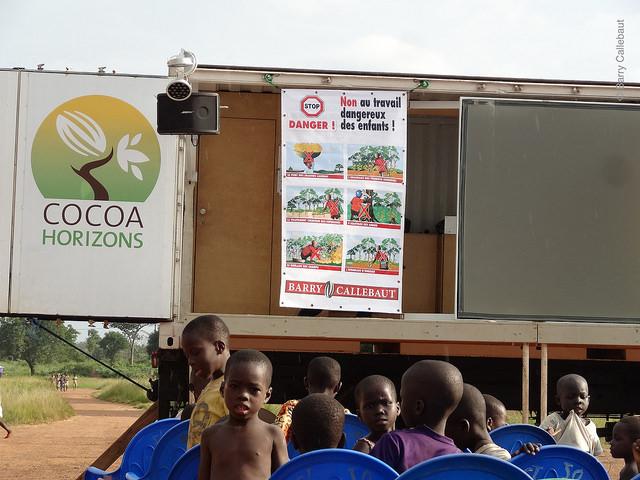 Le travail des enfants en Côte d'Ivoire© Barry Callebaut