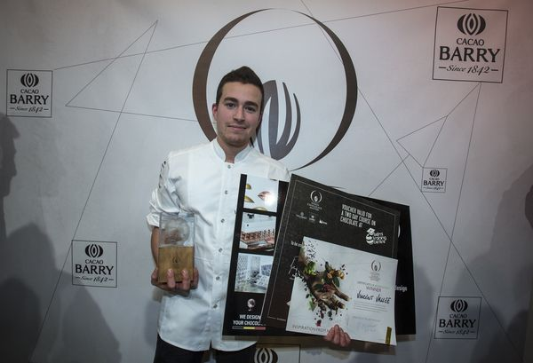 Vincent Vallée vainqueur du World Chocolate Masters 2015©