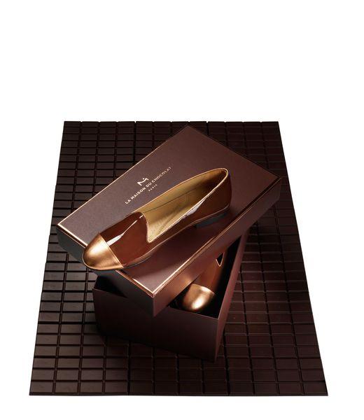 Slippers Chatelles au Chocolat - Collaboration Chatelles et La Maison du Chocolat©