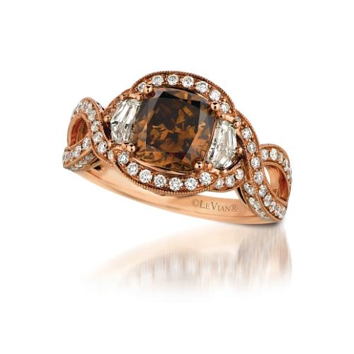 Les diamants en chocolat de Le Vian©PRNewsFoto-Le Vian Corp