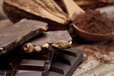 Chocolat noir aux amandes©
