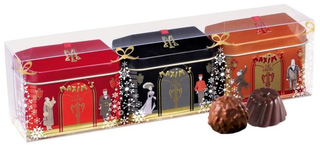 Les Mini-Maison de Noël par Maxim's©