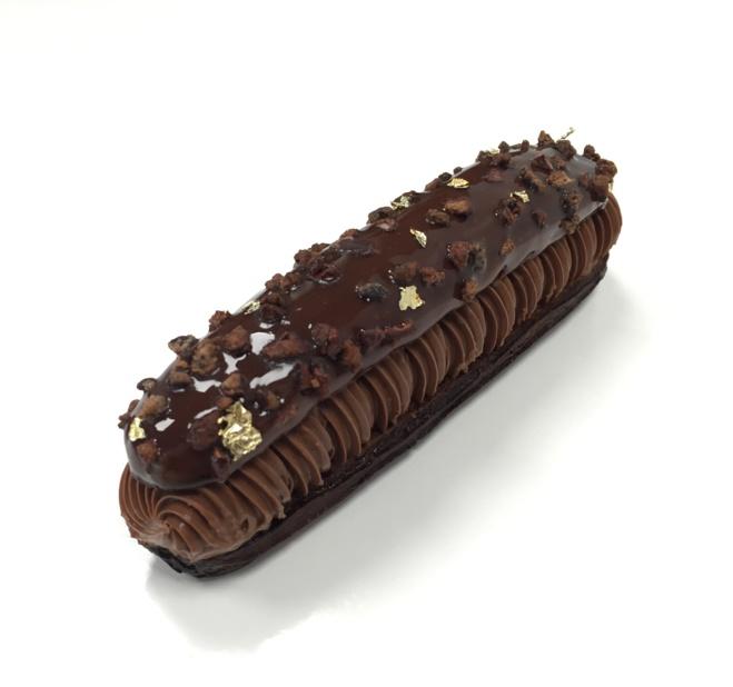 Eclair tout chocolat par Vincent Vallée©