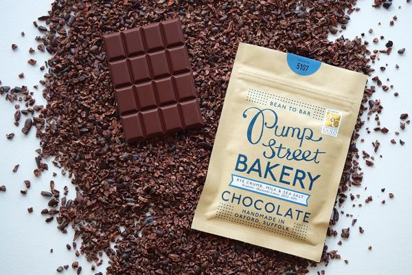 Tablette de chocolat au Seigle par Pump Street Bakery©