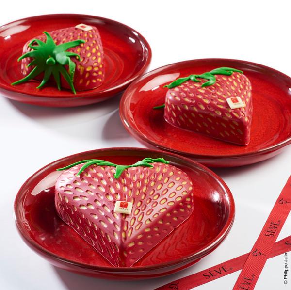 Fraisier pour la Saint Valentin par Sève©