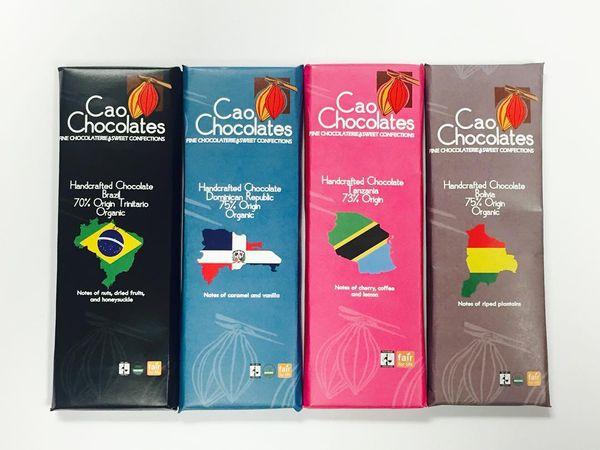 Les Tablettes de Cao Chocolates©