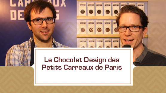 Les chocolats design des Petits Carreaux de Paris