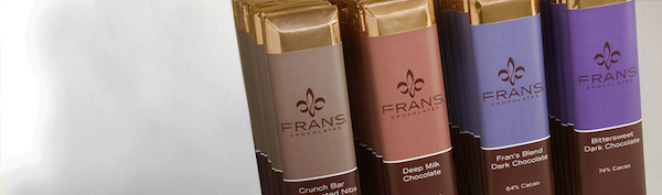 Pure Chocolates Bars par Fran's chocolates©
