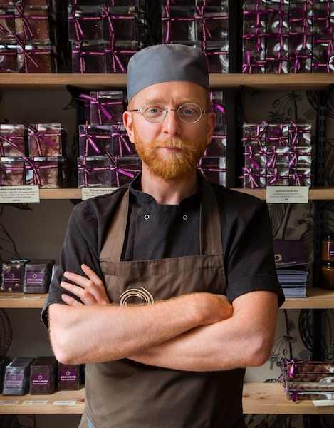 Le chocolatier Paul A Young©Maxine Kirsty Sapsford