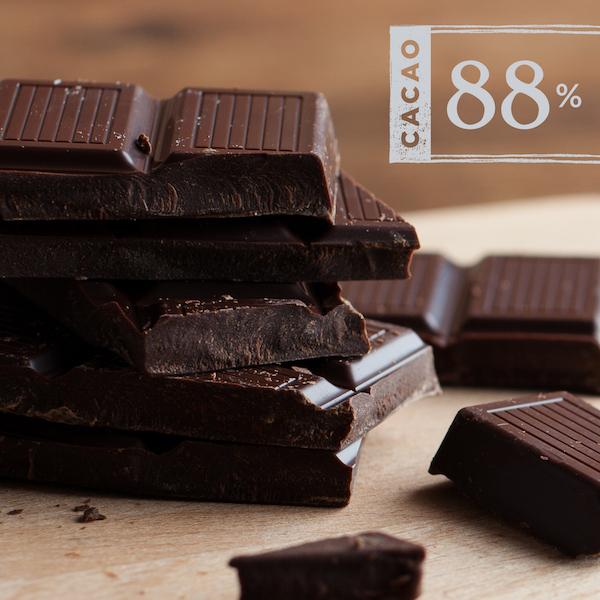 Le chocolat 88% Extreme Dark Chocolate de Equal Exchange©