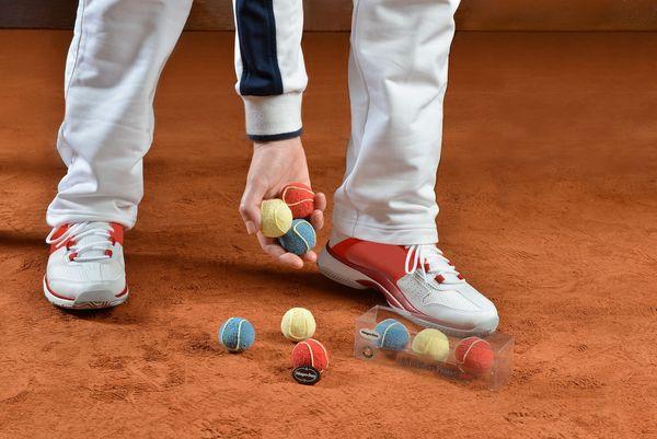 Les Balles Françaises d'Häagen-Dasz pour Roland-Garros©