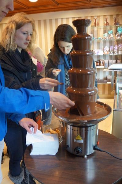 Participants au Rally du Chocolat de Lausanne 2016©