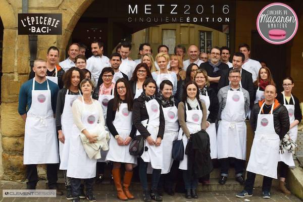 Les participants du Concour du Macaron Amateur de Metz 2016©