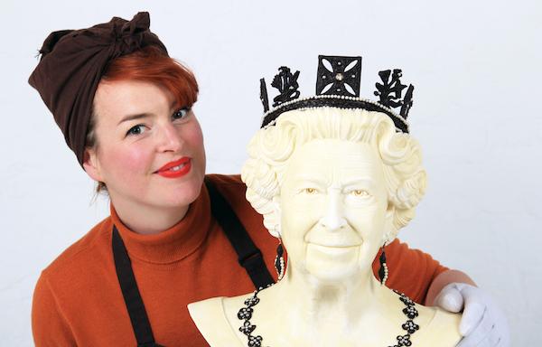 Jen Lindsey-Clark et sa Reine en chocolat©