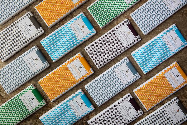 Les tablettes de chocolat de Love Cocoa©