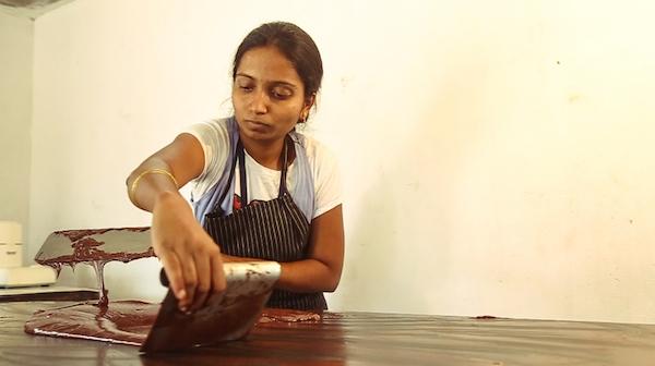 Sankalpa au travail chez Earthloaf©