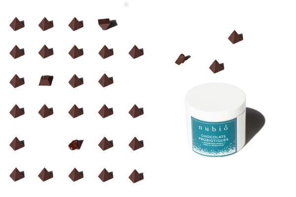 Les chocolats probiotique de Nubio©