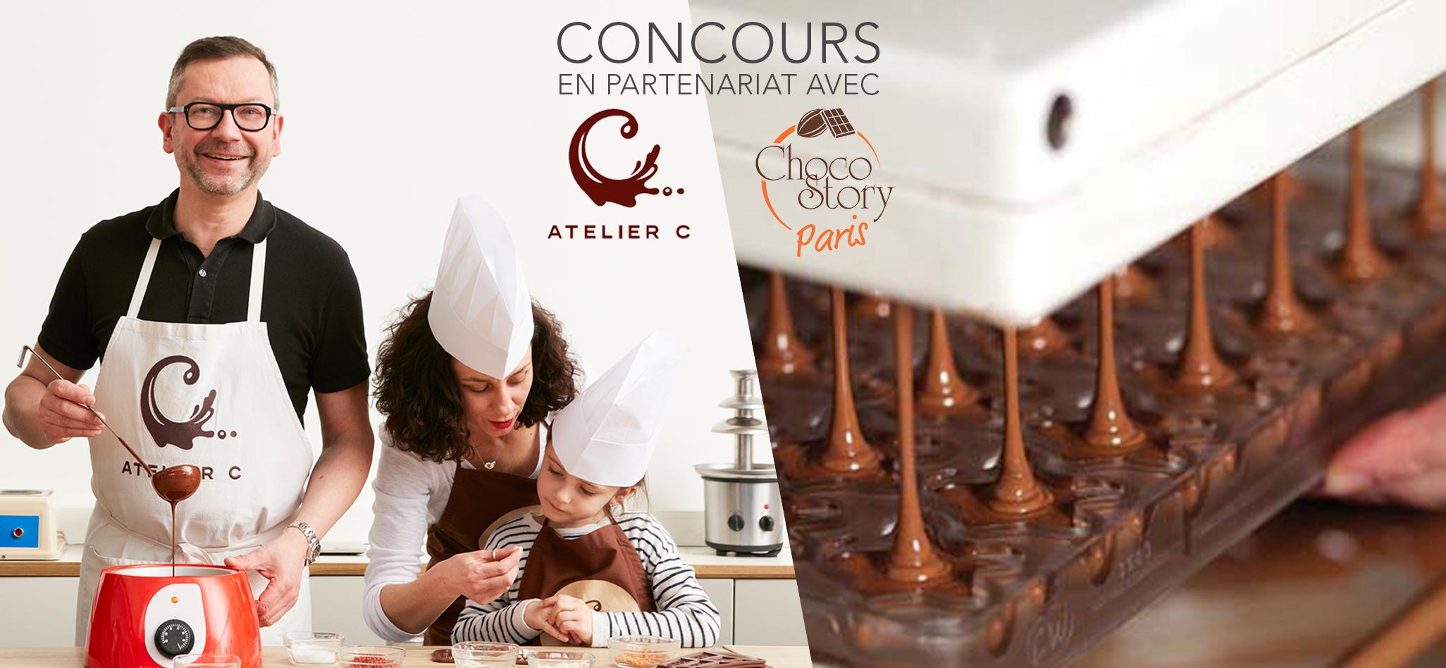 [Concours] ChocoClic vous ouvre les portes du monde du chocolat