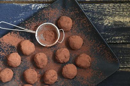 Truffes au chocolat©