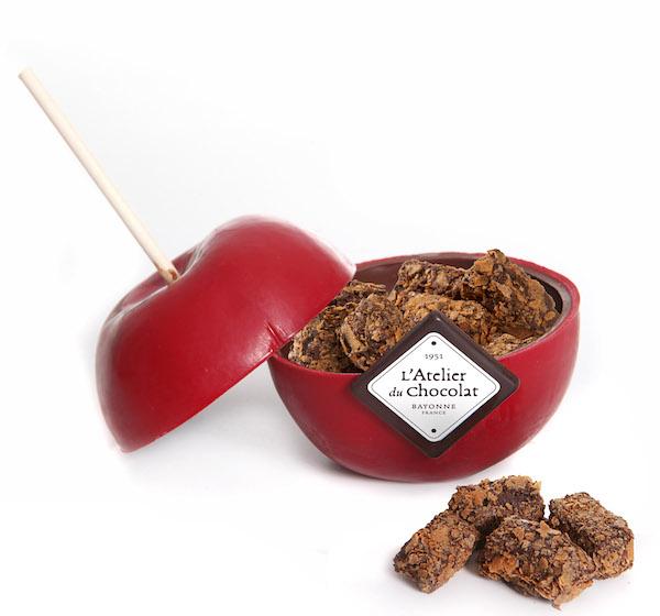 Pomme de St Valentin© Atelier du Chocolat