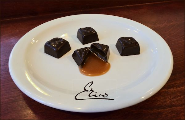 Chocolats fleur de sel-Erico Chocolatier©