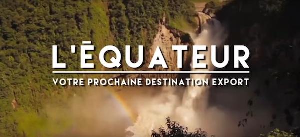 l'Equateur votre prochaine destination Export©
