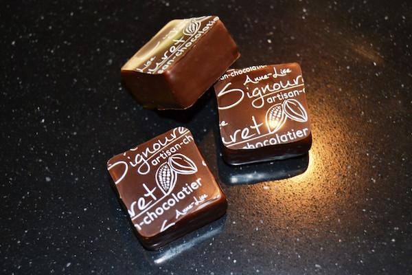 Les chocolats de la chocolaterie Signouret©