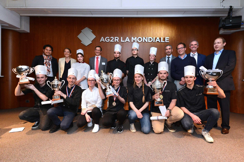 Les vainqueurs de la Coupe de France des Jeunes Chocolatiers Confiseurs©
