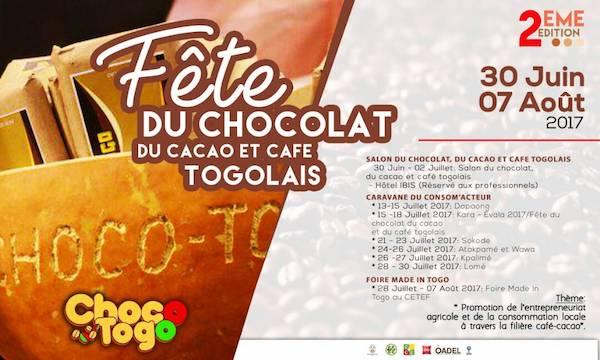 Affiche du festival Choco-Togo©