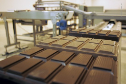 Usine de chocolat Barry Callebaut©Barry Callebaut