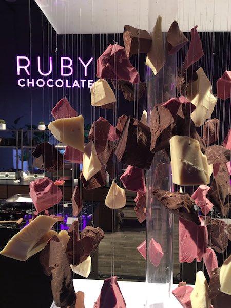 Le chocolat Ruby©Callebaut