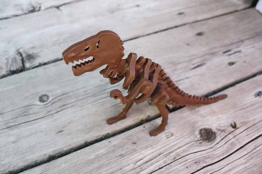 T-Rex en Chocolat©Chocolate Construction
