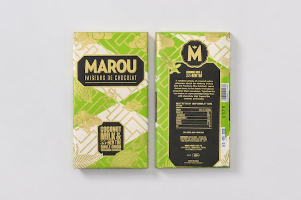 Tablette lait de noix de coco et Ben Tre©Marou