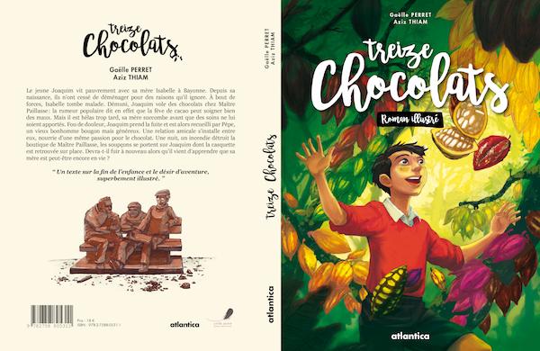 """La couverture du livre """"Treize Chocolats""""©"""