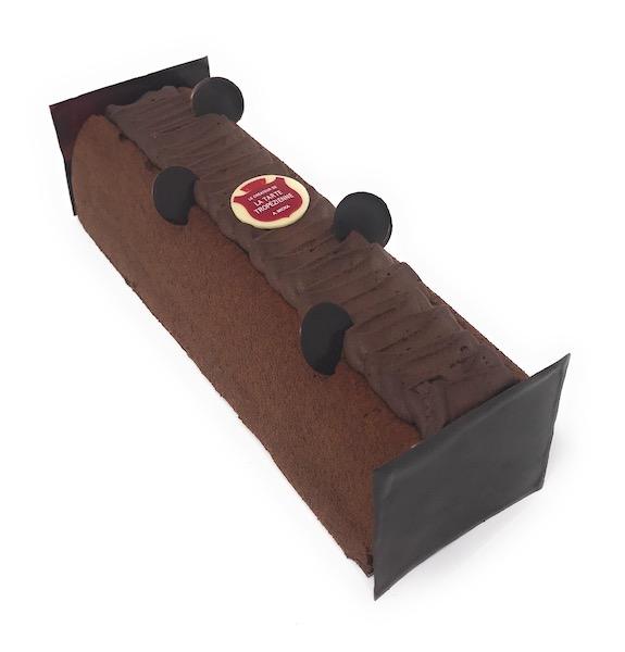 Bûche au chocolat par La Tropézienne©