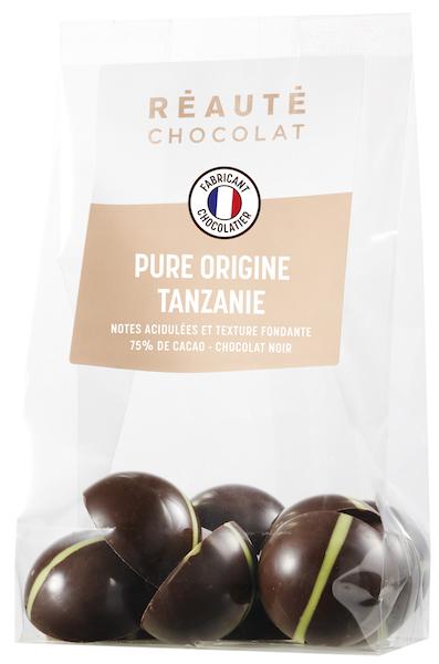 Chocolat Pure Origine Tanzanie par Réauté©