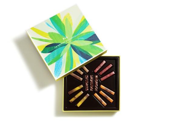 Coffret ouvert Bien Etre La Maison du Chocolat©