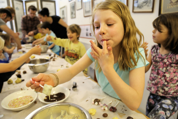 Atelier enfants au Chocolate Museum©