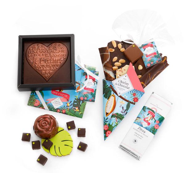 Collection de fêtes des mères par l'Atelier du Chocolat©